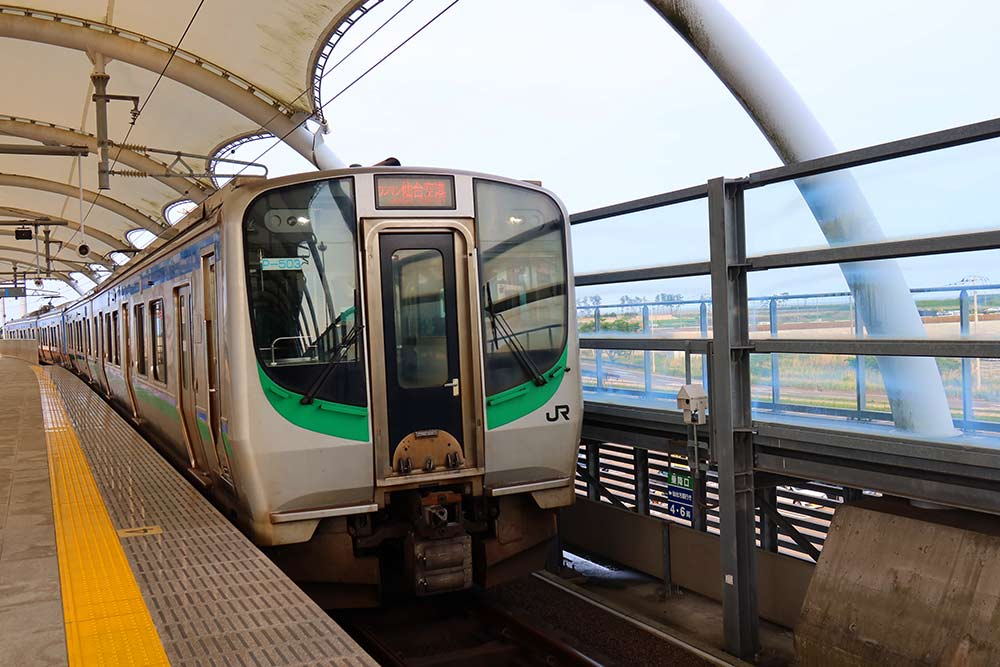 JR東日本のE721系