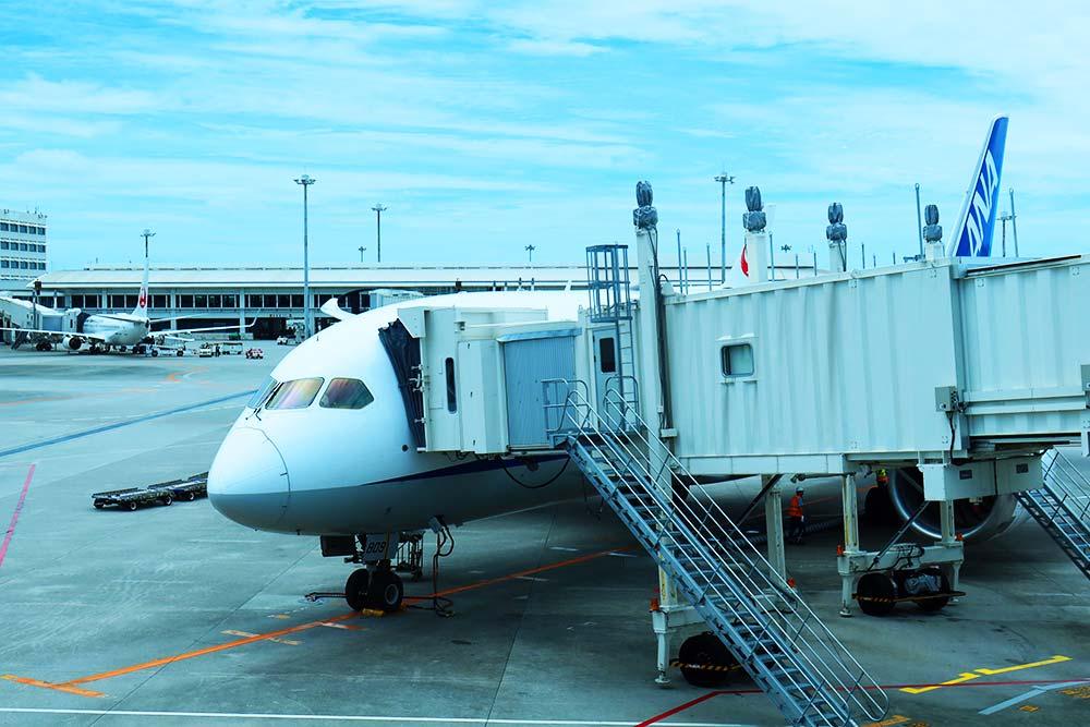 787@那覇空港