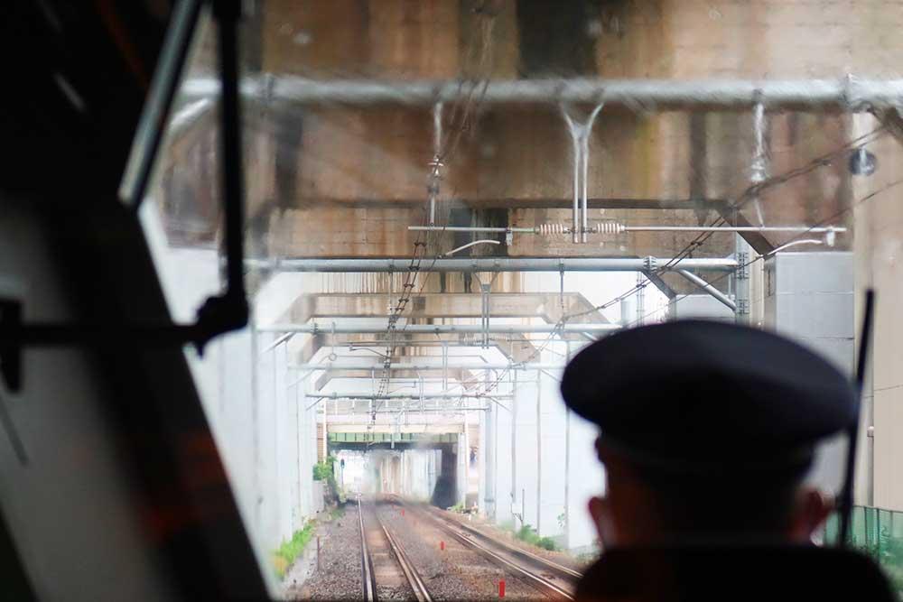 東海道新幹線下