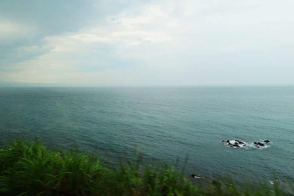 東海道線 海