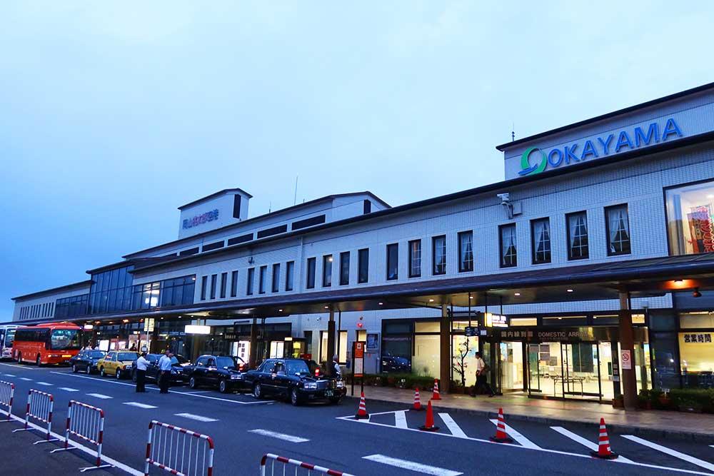 岡山空港ターミナルビル