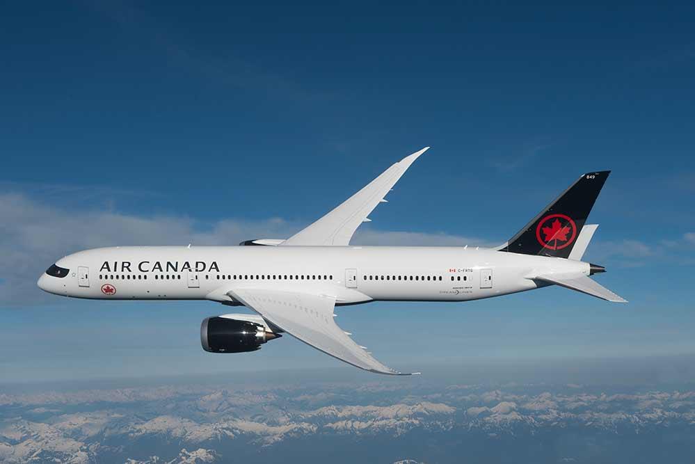 エアカナダ 787