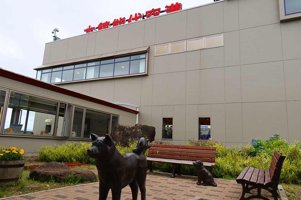 秋田県と空港ターミナル