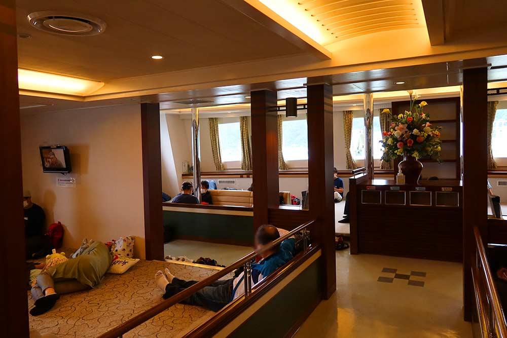 二等船室和室