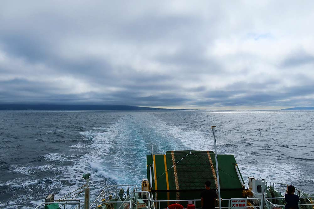 甲板からの景色