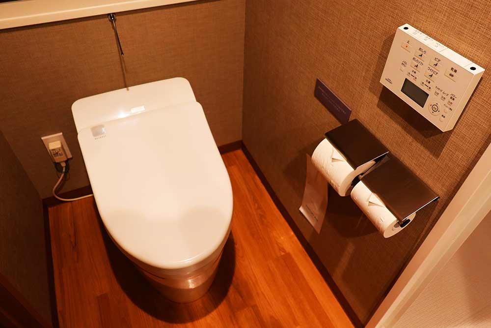 JRイン旭川客室トイレ