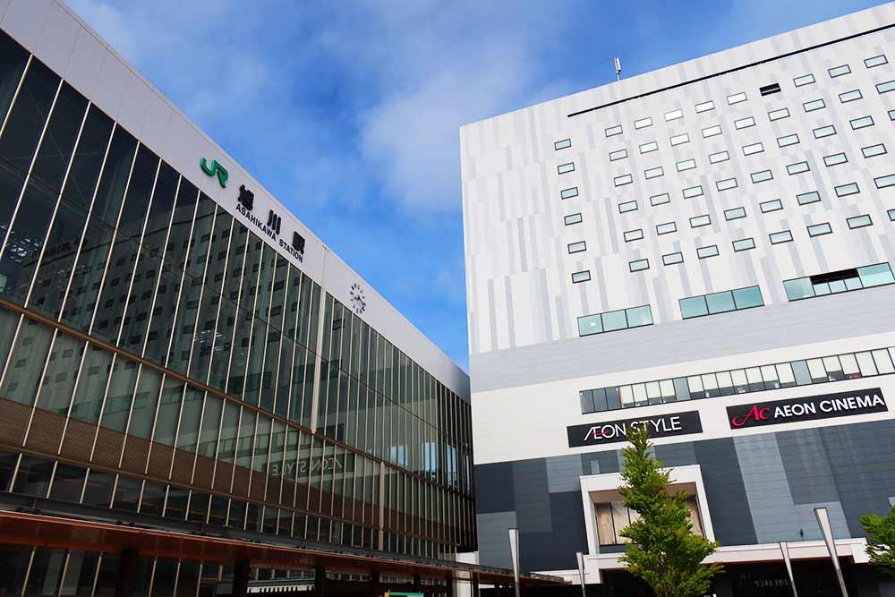 旭川駅とホテル