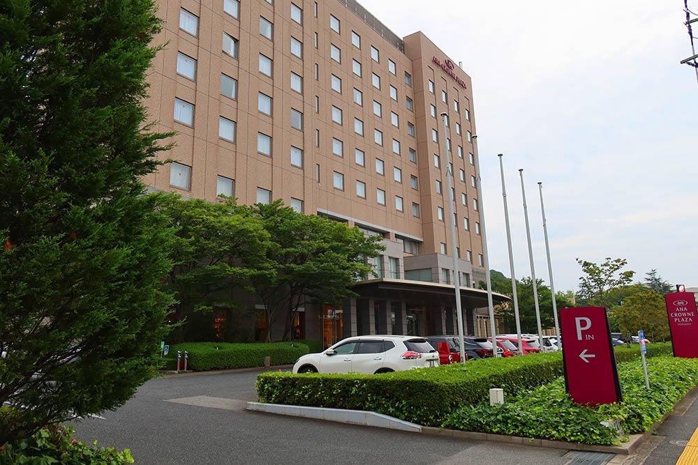 クラウンプラザホテル米子外観