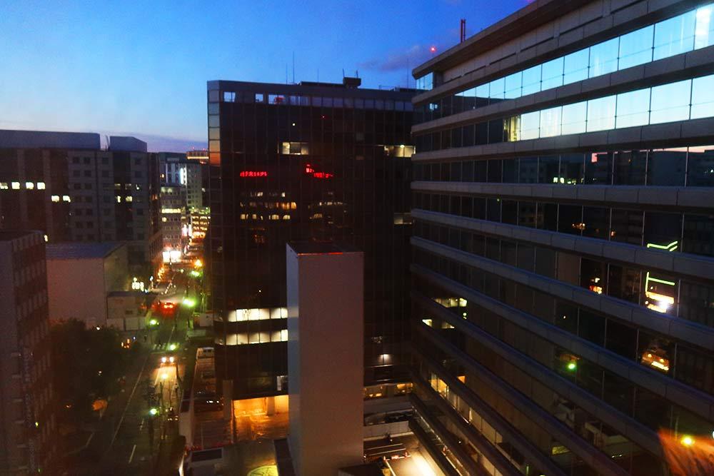 ANAクラウンプラザ 窓からの景色