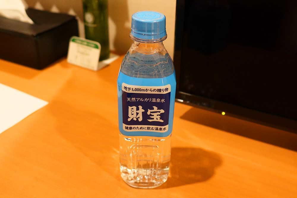 ANAクラウンプラザ福岡 無料の水