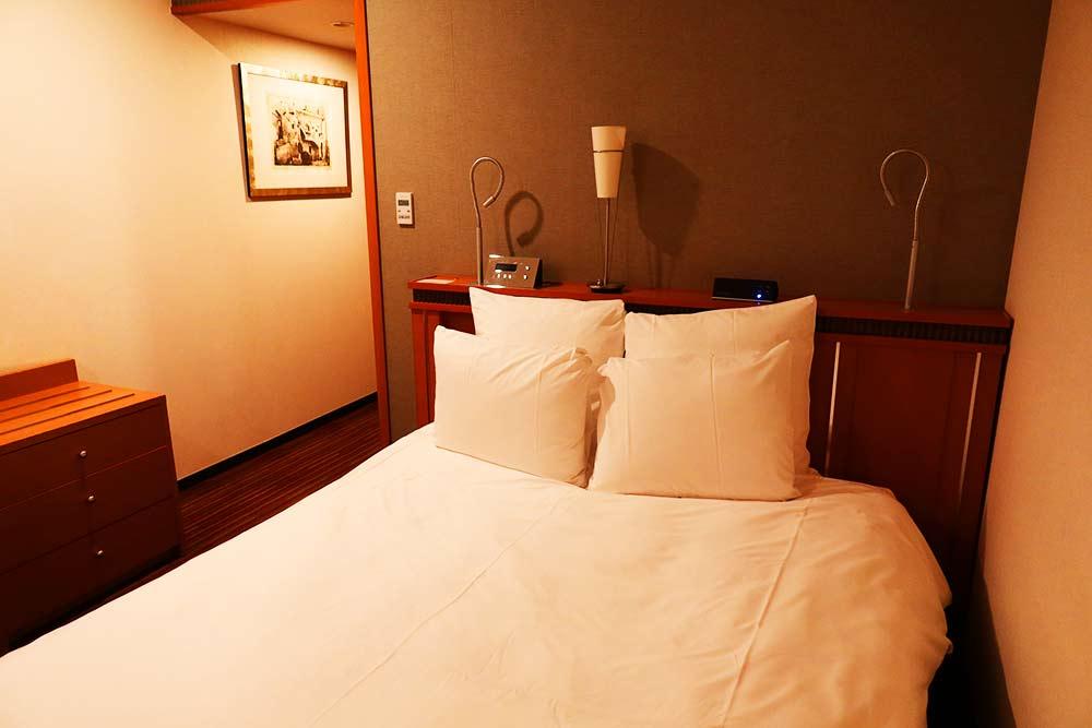 ANAクラウンプラザ福岡 ベッド