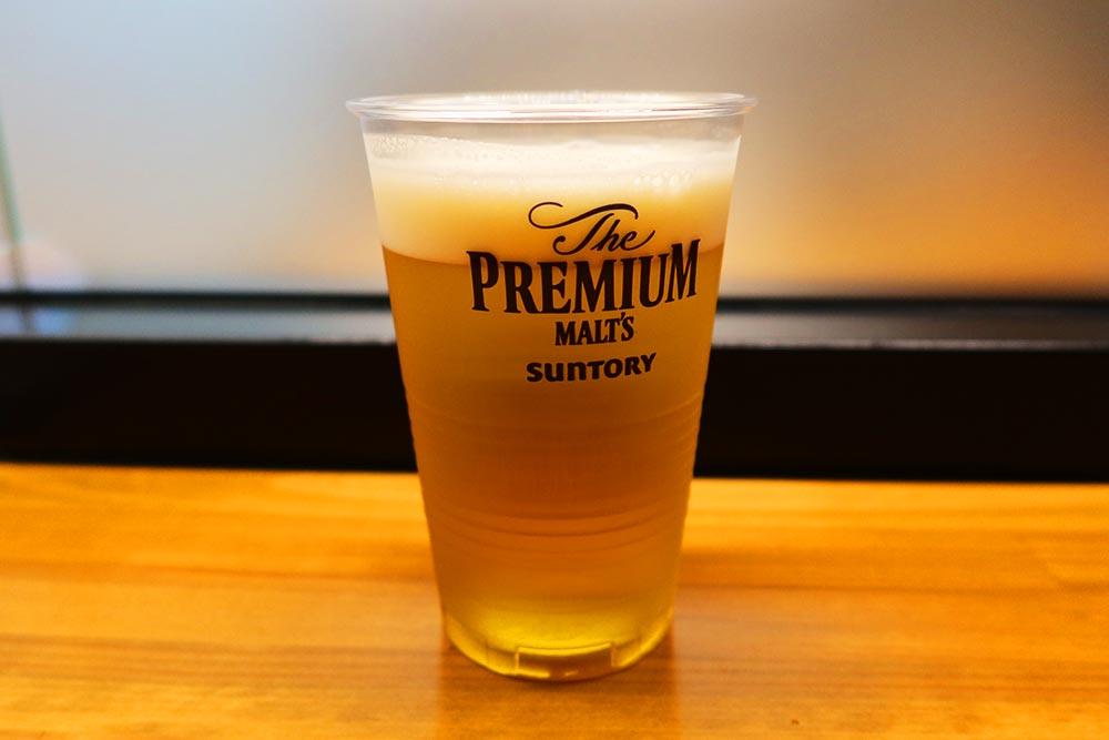 熊本空港ラウンジ 生ビール