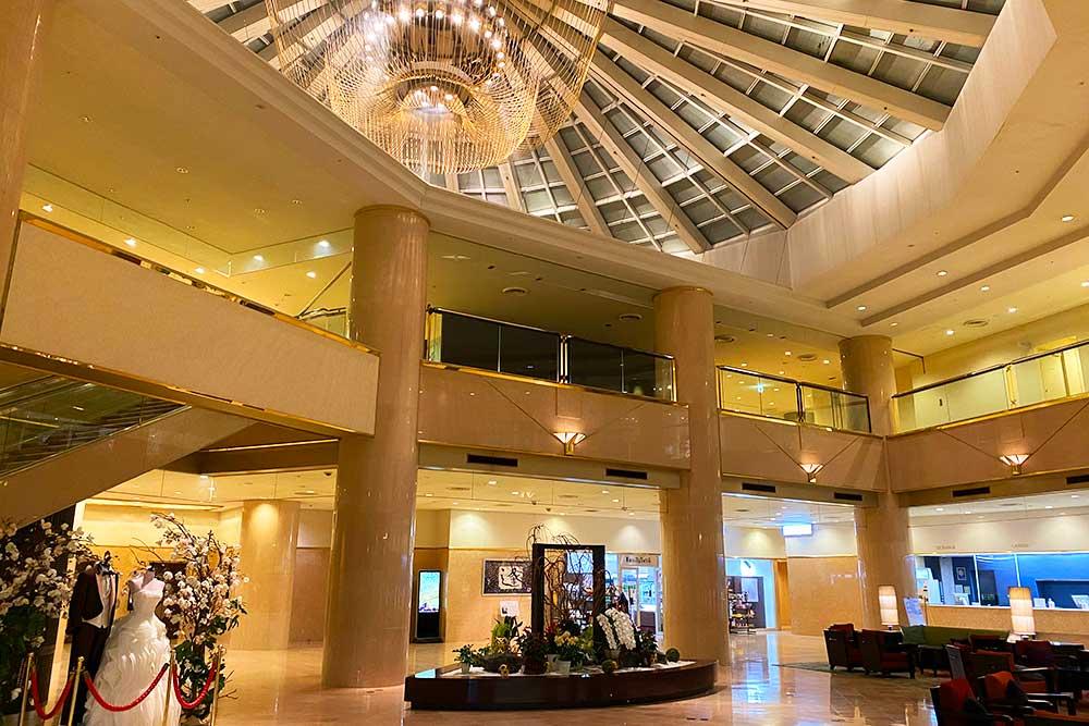 ANAクラウンプラザホテル成田ロビー