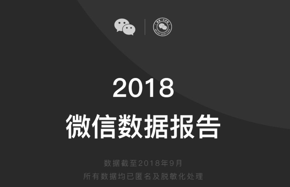 2018年Wechat(微信)データ報告