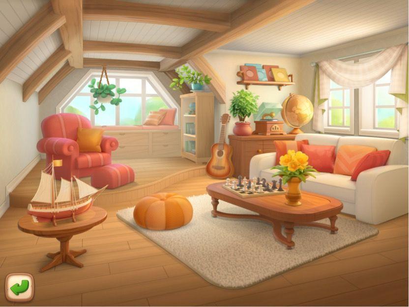 ガーデンスケイプ 屋根裏部屋のリフォーム終了