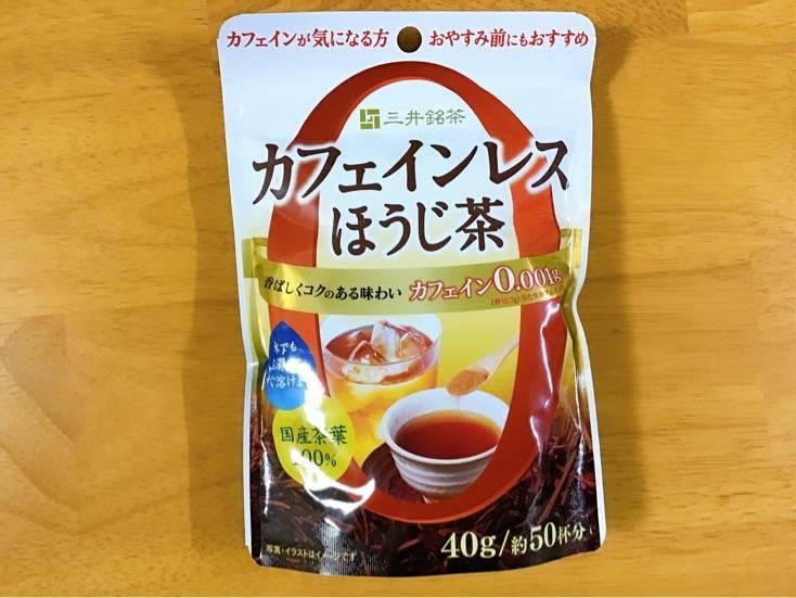 モラタメ カフェインレスほうじ茶