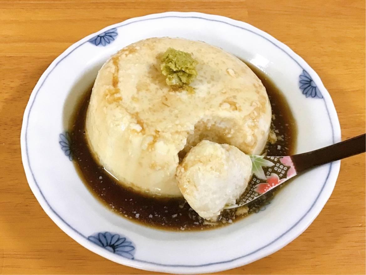 Oisixの商品 山芋寄せ豆腐