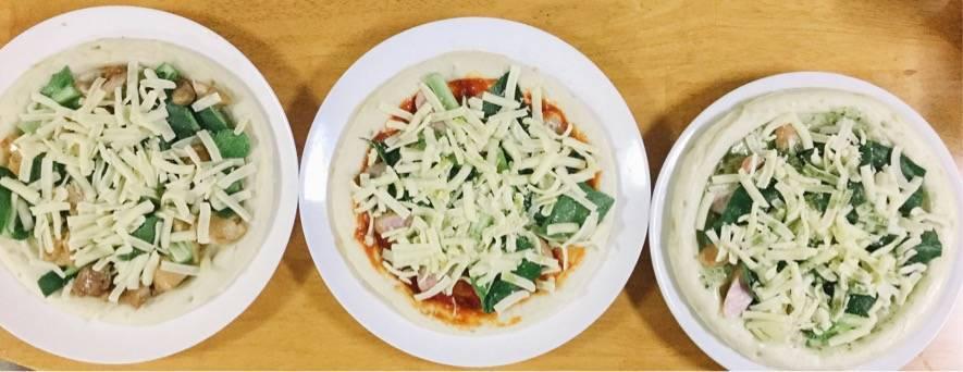 ピザ3種類の写真