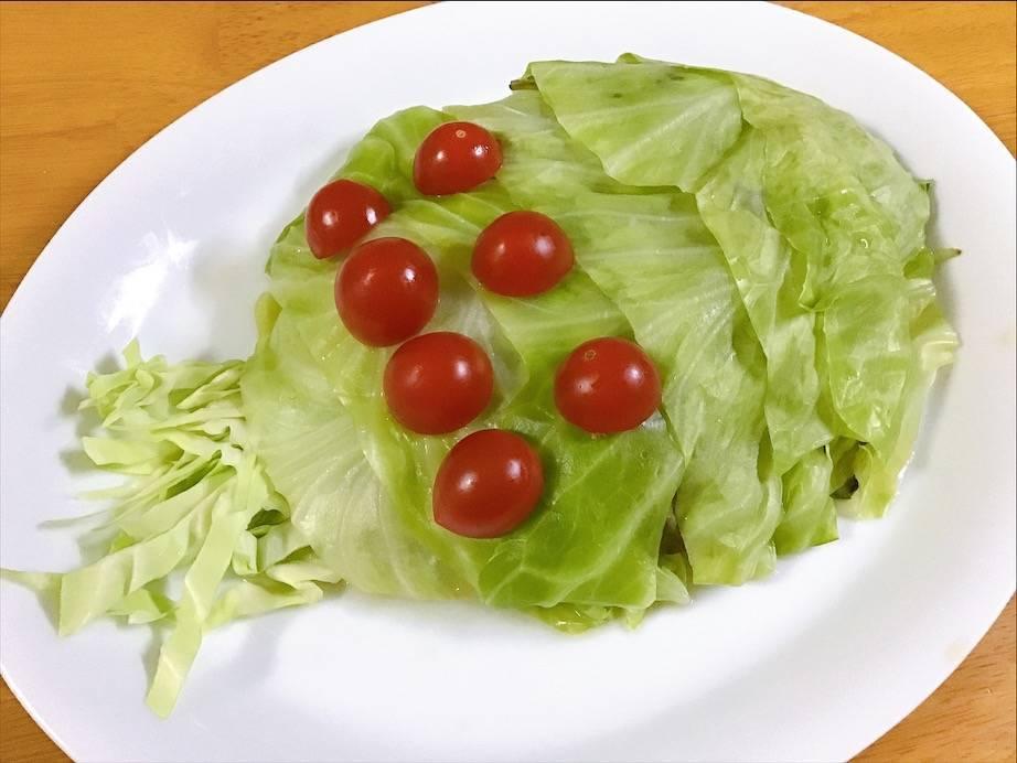 オウムサラダの写真