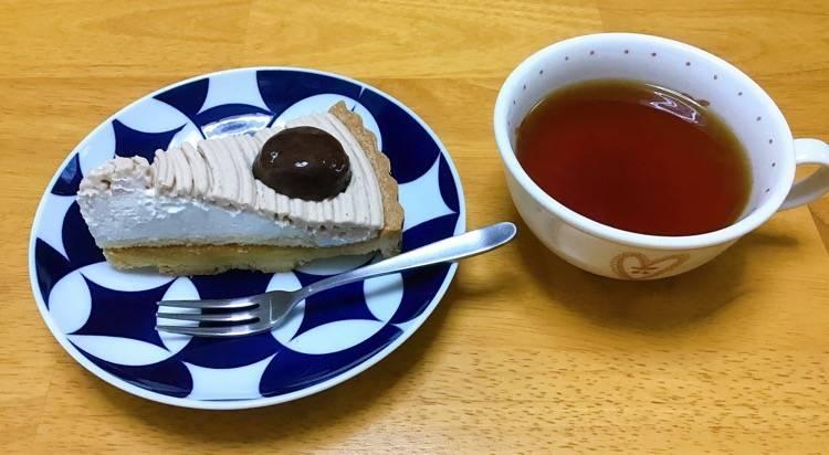有田焼を使ったある日のデザート