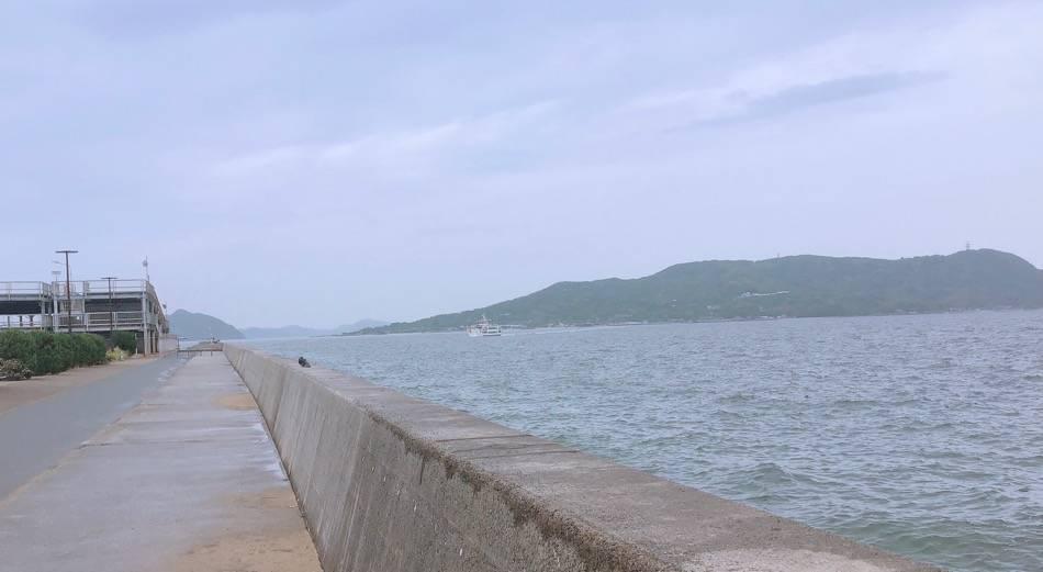 能古島からの船
