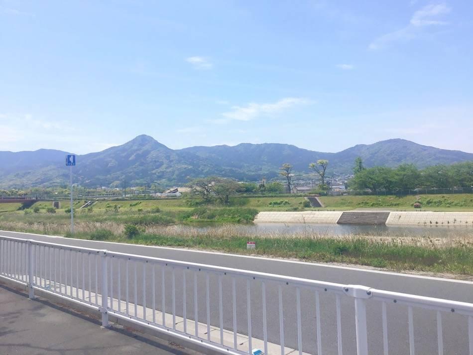 次郎丸河原公園から見た室見川