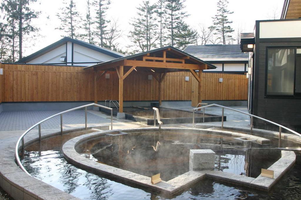 水光園露天風呂