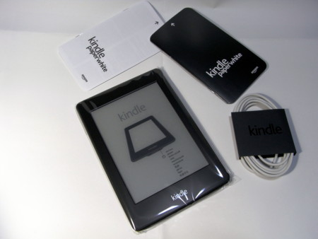 Kindle Paperwhite 内容物