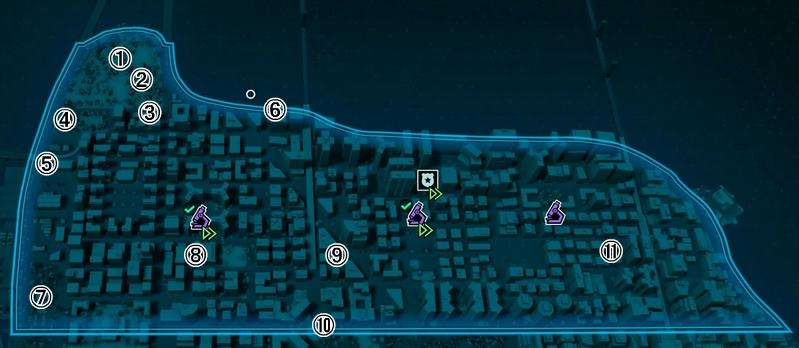 PS4スパイダーマン マップ
