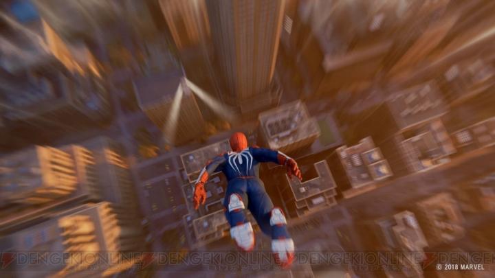PS4スパイダーマン ウェブスイング