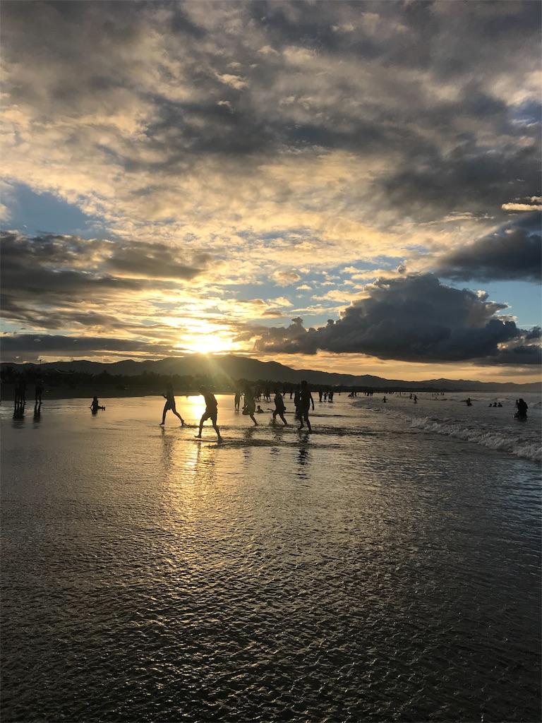 パンガシナンの海