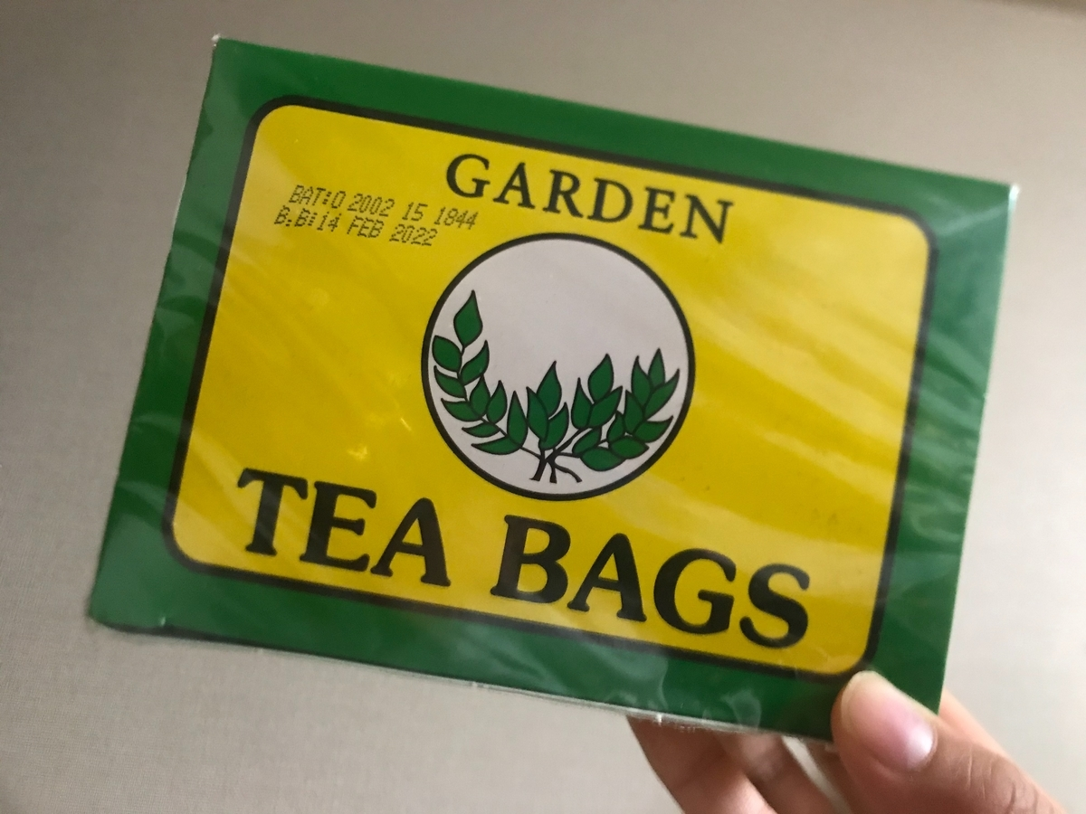 サイラスがおすすめしていた紅茶をアカシアモールで購入しました