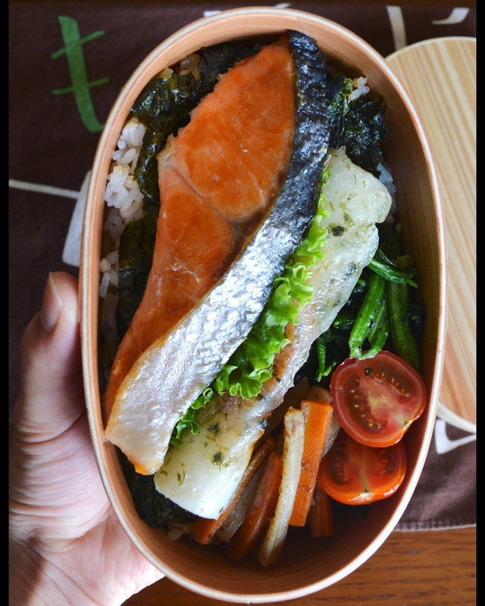 魚を使ったお弁当