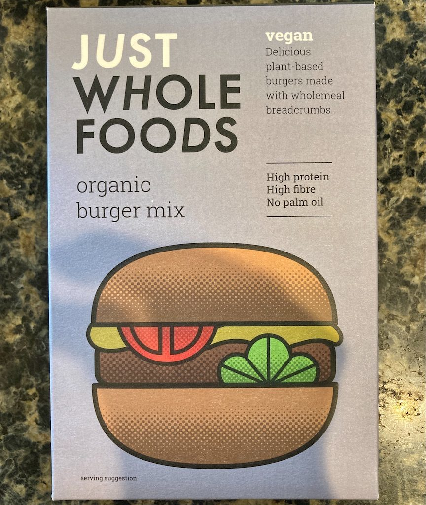 JUST WHOLE FOODS Organic Burger Mix