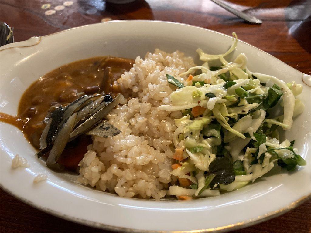 野菜とお豆たっぷりのカレー