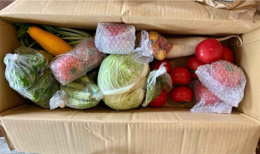 織座農園のお野菜便