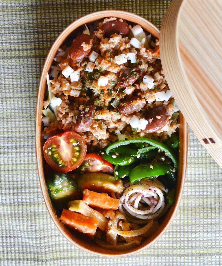 高野豆腐のサルサ