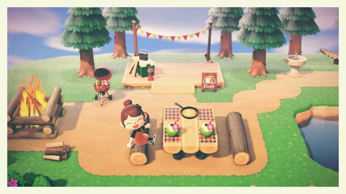 森 キャンプ あつ