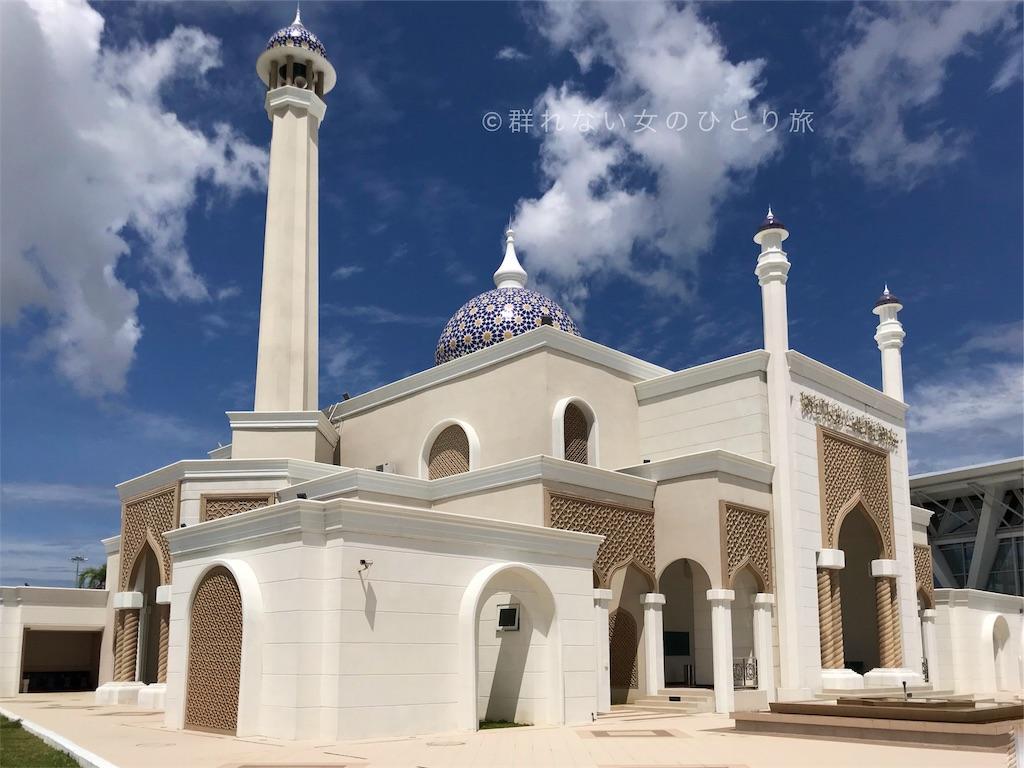 空港に併設されたモスク