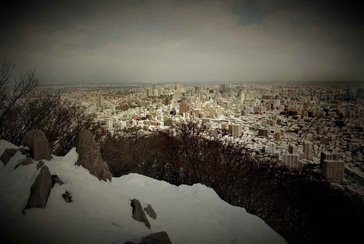 円山頂上2