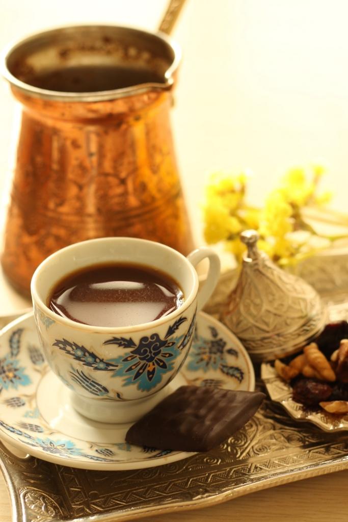 シリアコーヒーとチョコレート