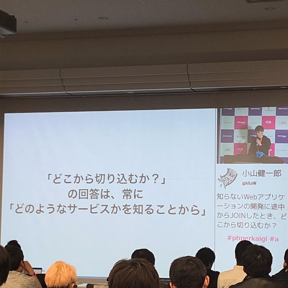 『知らないWebアプリケーションの開発に途中からJOINしたよき、どこから切り込むか?』@小山健一郎
