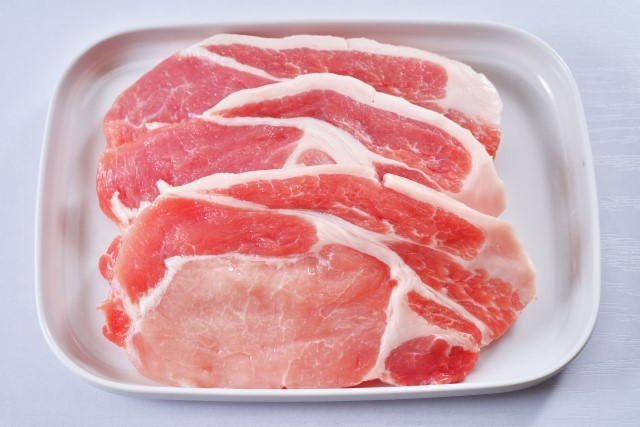アミノ酸が多いとされる豚肉