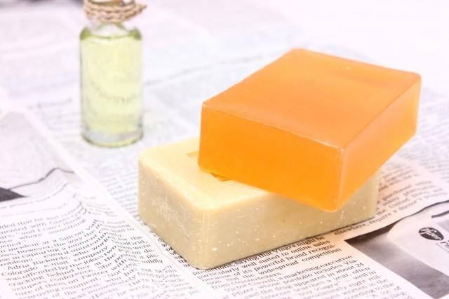 普通の石鹸
