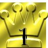 ランキング1位の王冠マーク