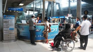 スワンナプーム空港のリムジン受付