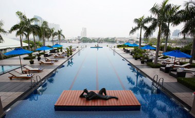 チャトリウムホテル・リバーサイド・バンコクのプール