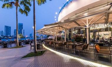 チャトリウムホテル・リバーサイド・バンコクのレストラン