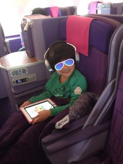 バンコク野郎エアバスA380ビジネスクラス