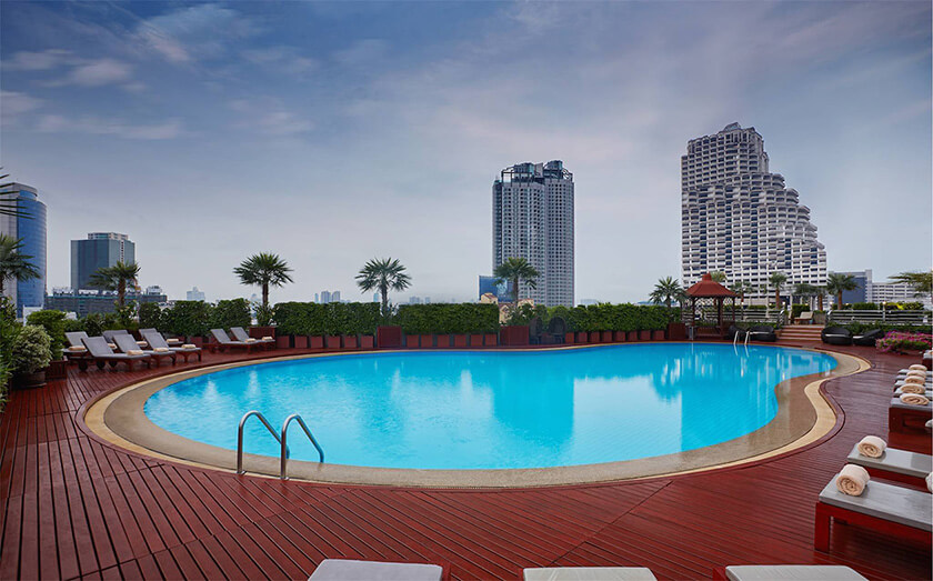 センターポイントホテル・シーロムのプール